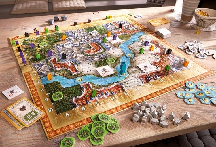 A Great Gift For The Entire Family Santa Delivers A Board Game Every Year I M Sure This One Would Become A Treasured Board Games Strategy Board Games Haba