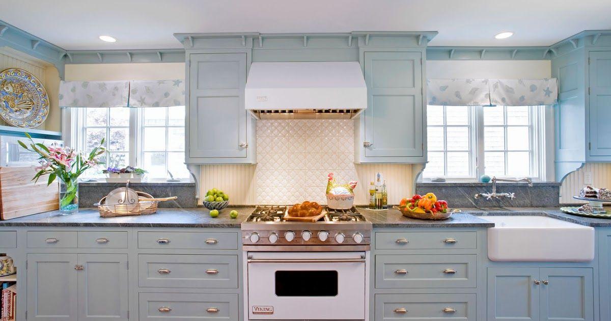 Robin's Egg Blue...This Kitchen Heralds Spring... | Blue ...