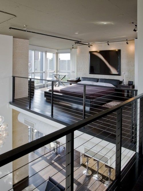 Bedroom Mezzanine loft & mezzanine bedrooms | beach house reno/rebuild | pinterest