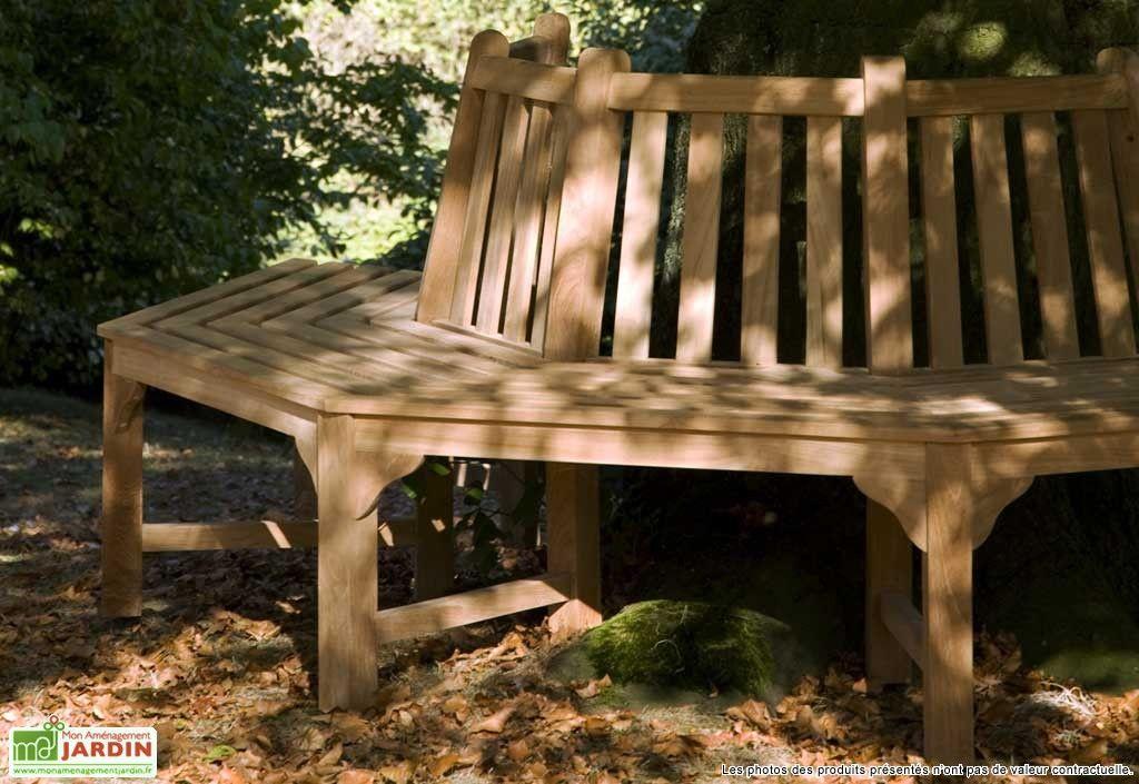 banc de jardin teck winston mobilier
