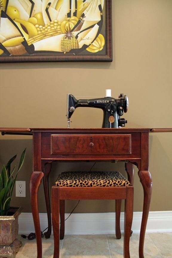 Restoring a Vintage Sewing Machine | máquinas de coser | Pinterest ...