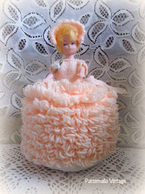 Vintage Toilet Roll Cover Doll Kitsch Quot Toilet Dolly