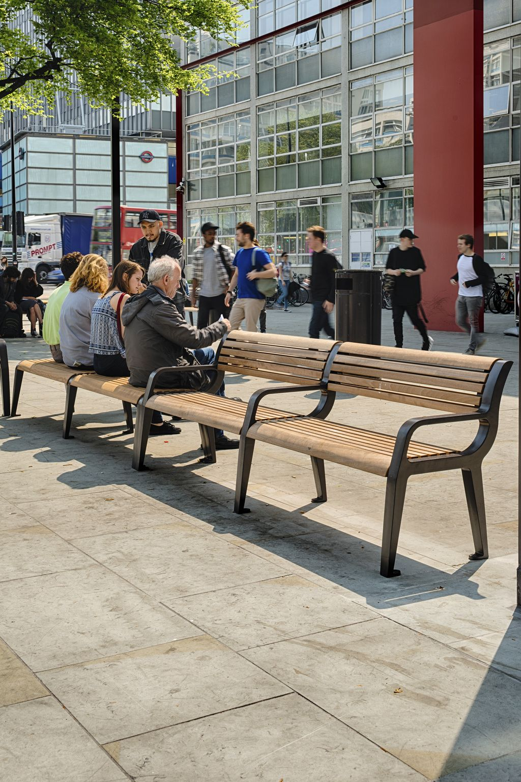 Marshalls   Street Furniture: Bespoke Public Seating To Encourage Social  Interaction 2 Of 4