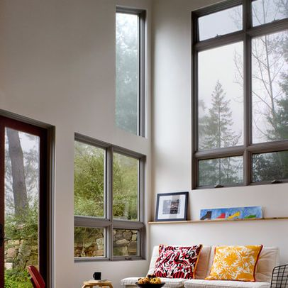 Do you think windows without casing look cheap and for Room with no doors or windows
