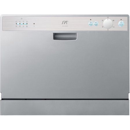 Perfect for apartments, office kitchens or any small-sized kitchens; offers full-size power in a compact design. With a height of only 17.24-inch #myrrhshop #onlineshoppingnetwork #onlineshopping #onlineshop #dishwasher #buykitchenappliances #buyhomeappliances #SPTCountertopDishwasher http://homeappliances.myrrhshop.com/product/spt-countertop-dishwasher-silver/
