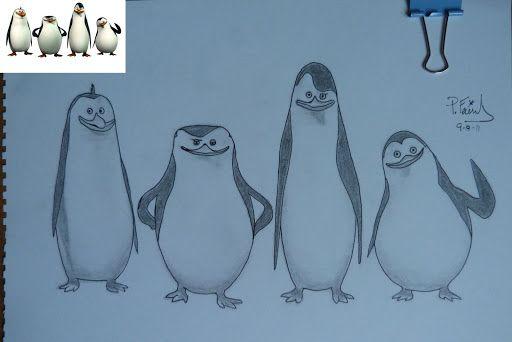21+ Dibujos de pinguinos trends