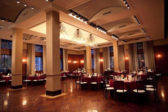 Newberry Library Ruggles Hall Wedding Reception
