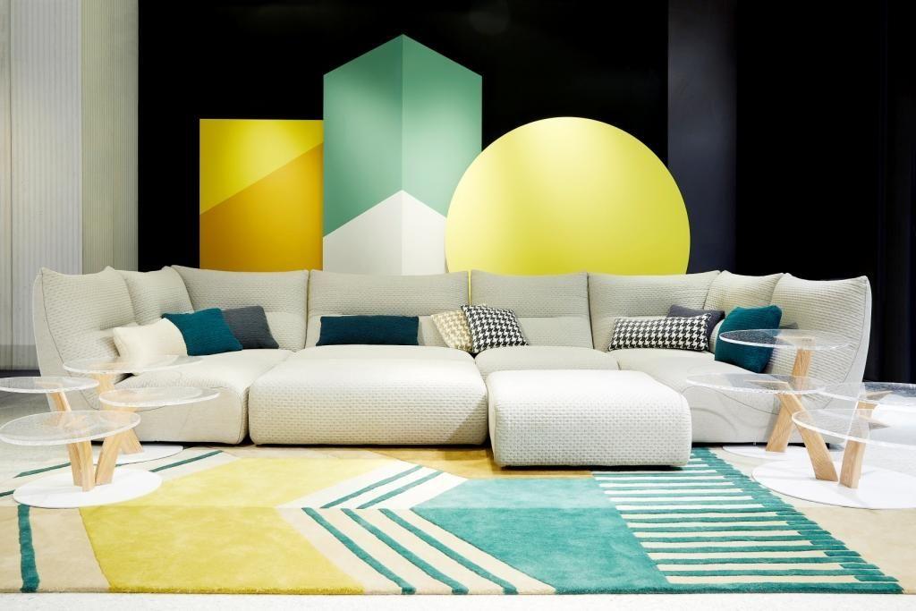 Roche Bobois Player Sofa Designed By Roche Bobois Studio Manufactured In Europe Rochebobois Frenchartdevivre P Furniture Seating Modern Interior Decor