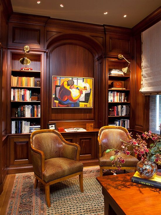 Traditional Home Library Design Ideas: Found On Zillow Digs (With