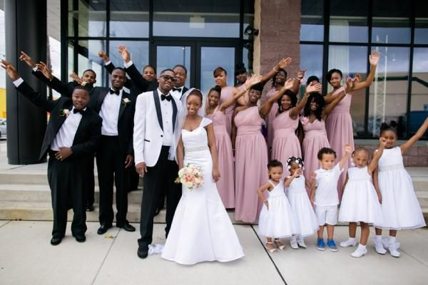 Old Hollywood Glam Wedding With Pink Black And White Color Scheme In Philadelphia