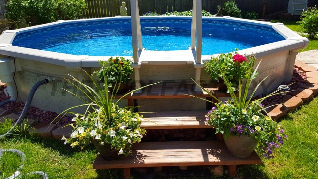 Landscaping Around Your Above Ground Pool Swimming Pool