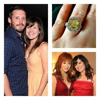 Kelly Clarkson tweets she's engaged to Reba McEntire's ...