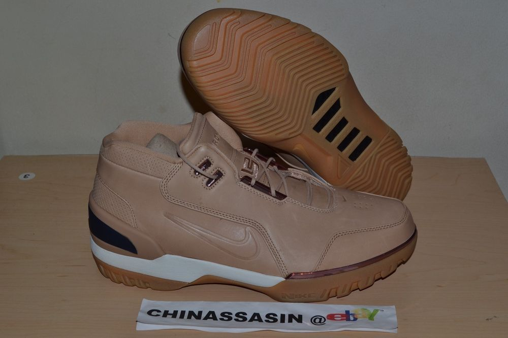 599c8511f406 Nike Air Zoom Generation AS QS Vachetta Tan All Star size 11 US 100%  Authentic (eBay Link)