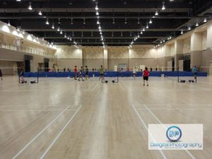 Best Badminton Court Singapore Review14 Our Tampines Hub Badminton Court Badminton Court