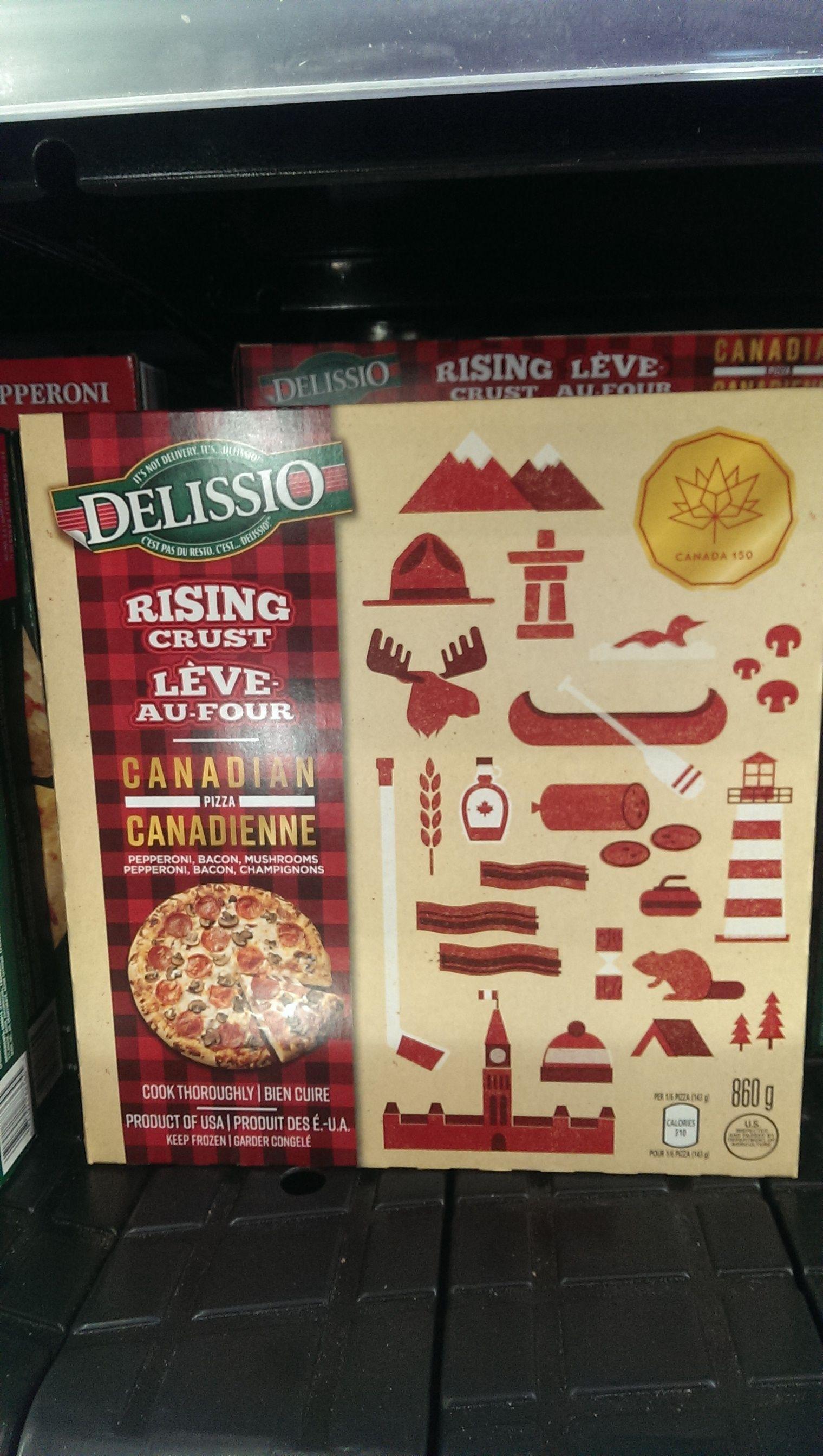 Delissio pizza too canada150 canada 150 cool tech