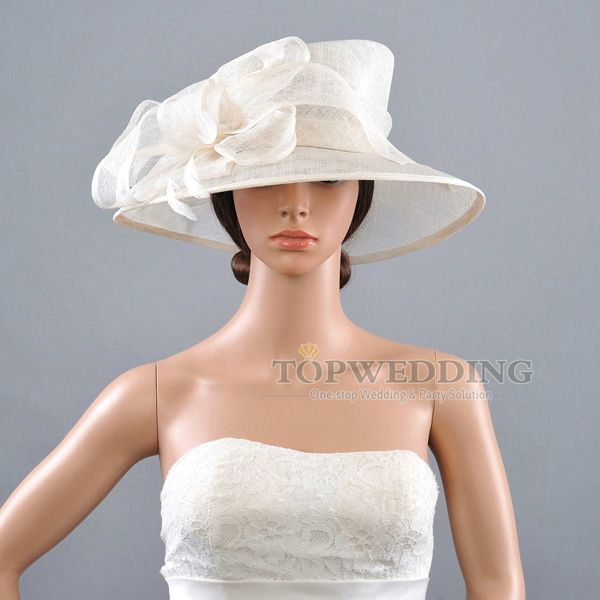 ivory wedding hats  d5239088a13