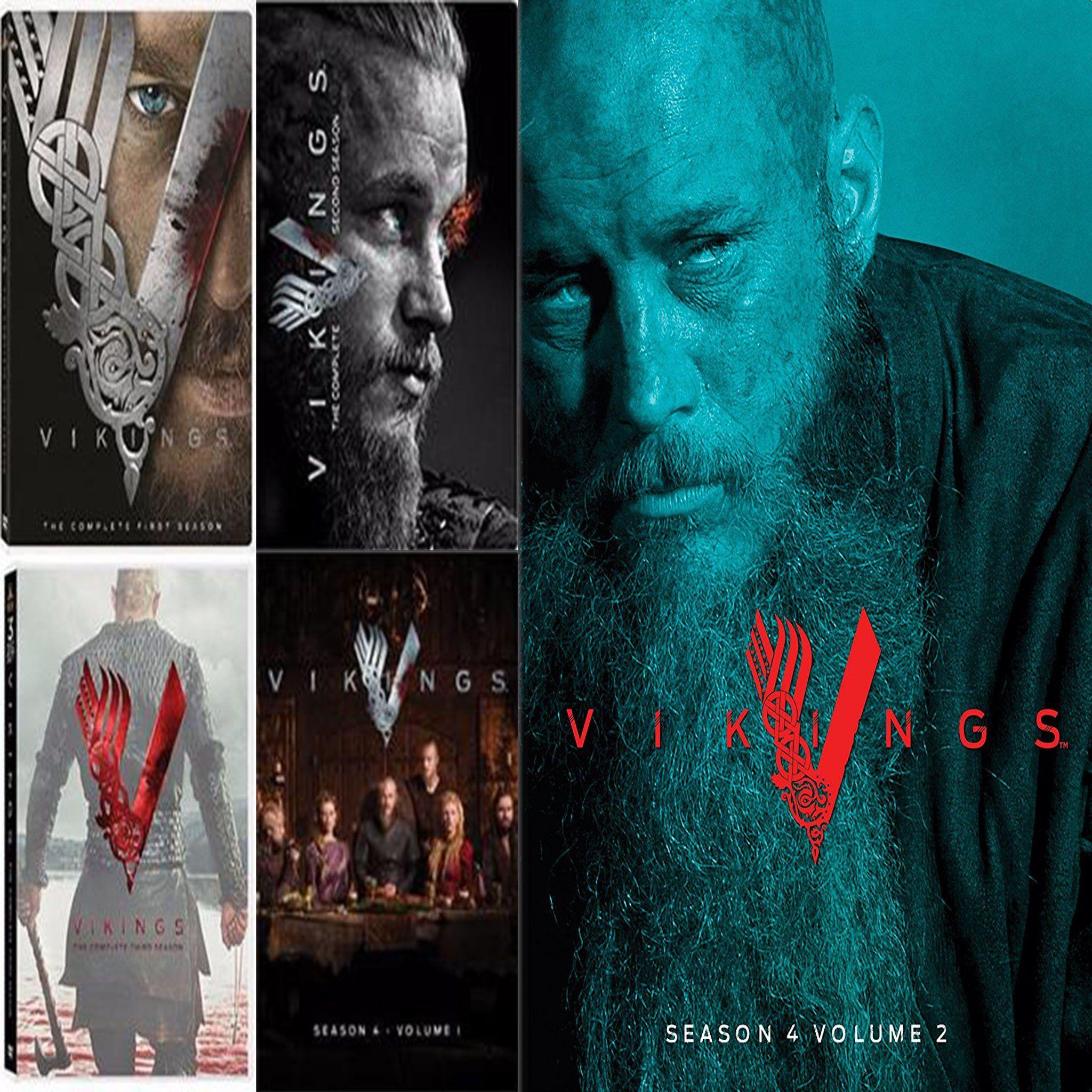 Vikings DVD Series Seasons 1-5 Set | Products | Vikings