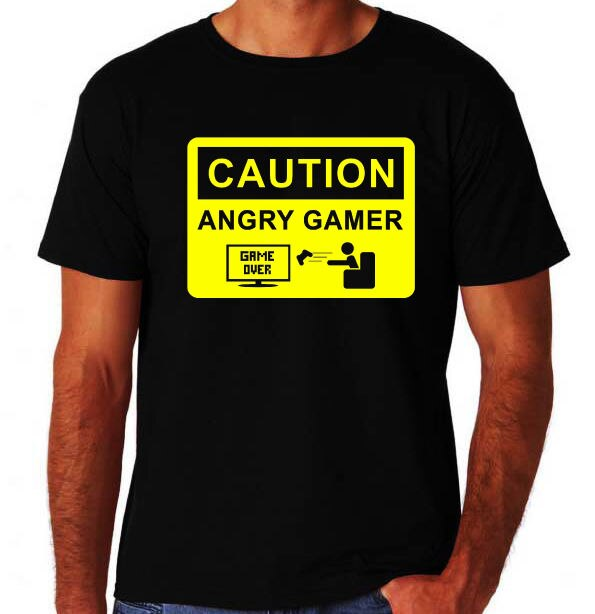 Angry Gamer Funny Arcade Video Game Angry Game Geek News Computer Video Games