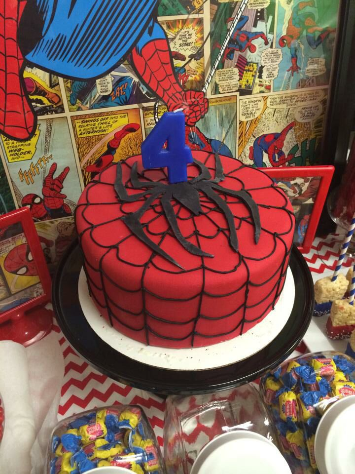 Spiderman party ideas spiderman party spiderman centerpieces