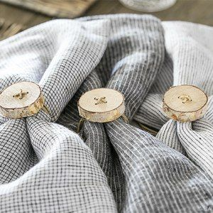 54 Quick and Easy Farmhouse Home Decor Accessory DIYS #napkinrings