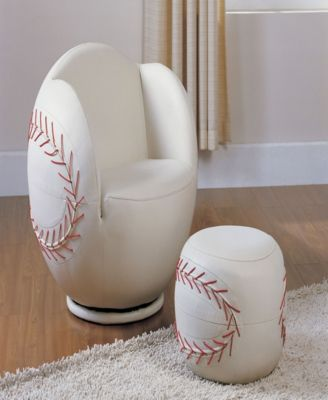 Fantastic Baseball Furniture Chairs Acme 05528 2 Piece All Star Set Unemploymentrelief Wooden Chair Designs For Living Room Unemploymentrelieforg