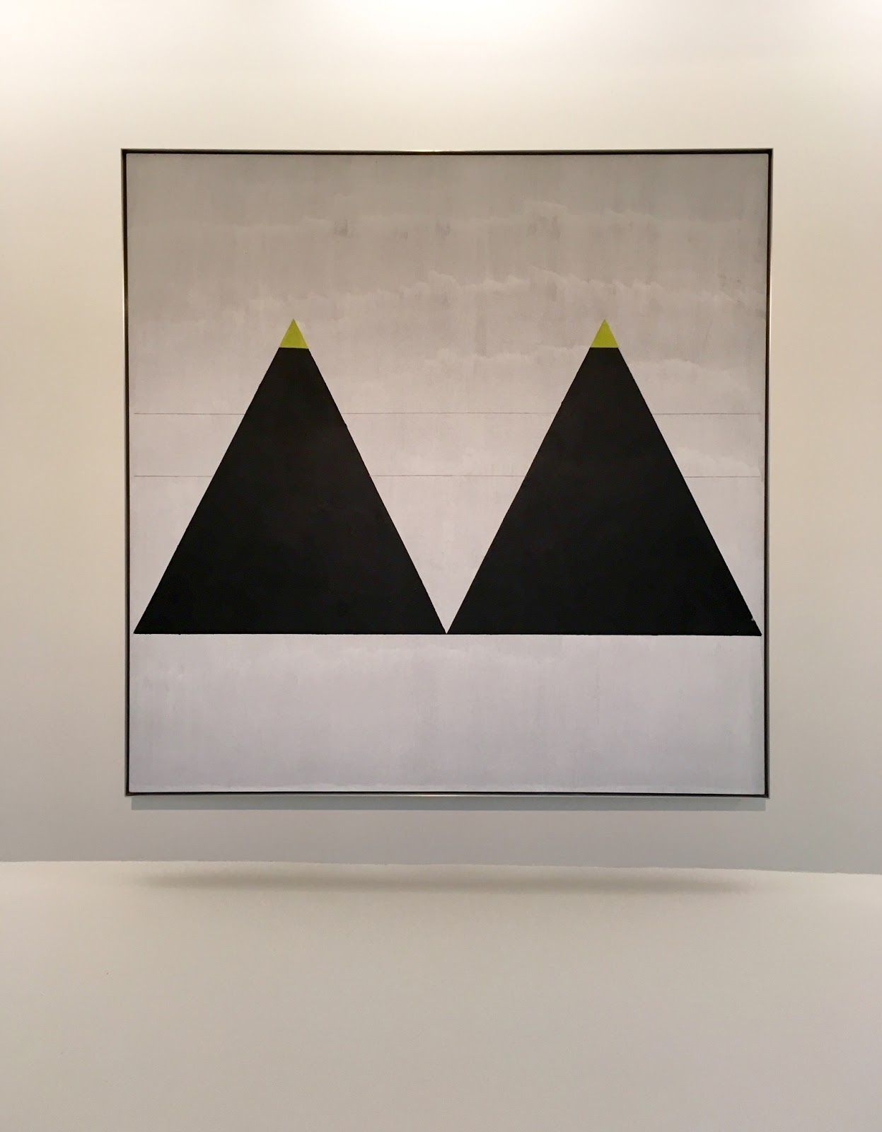 New York City Solomon R. Guggenheim Museum, Agnes Martin exhibition at the Solomon R. Guggenheim Museum