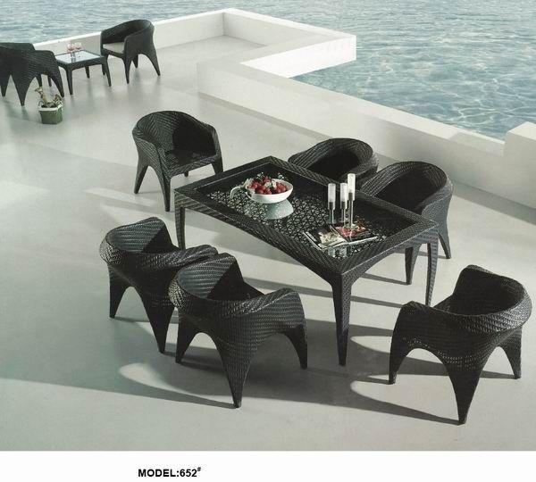 Outdoor Garden Rattan Table Set Www Facebook Com Pages