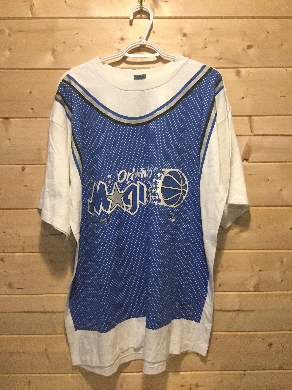 best service f041c 68131 Vintage 1990's Orlando Magic Jersey T-Shirt Salem Retro T ...
