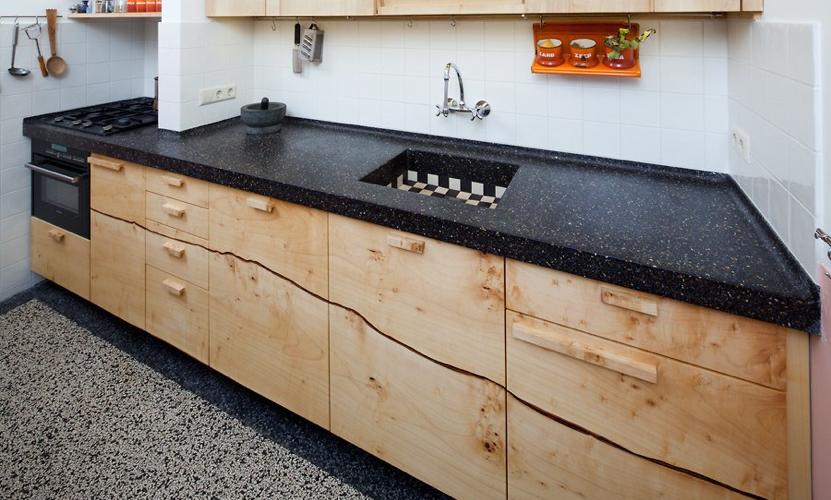 Aanrechtblad terrazzo google zoeken keuken pinterest for Keukenkast ontwerpen