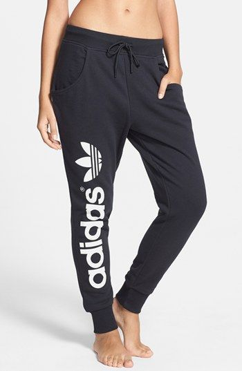 promo code eccc6 8cb20 adidas Originals Baggy French Terry Track Pants  Nordstrom