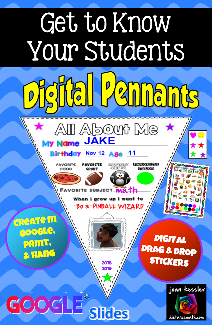 Great Way To Introduce Google Slides To Your Students Design With Digital Stickers Print And Hang Interactive Lessons Literacy Lessons Getting To Know You