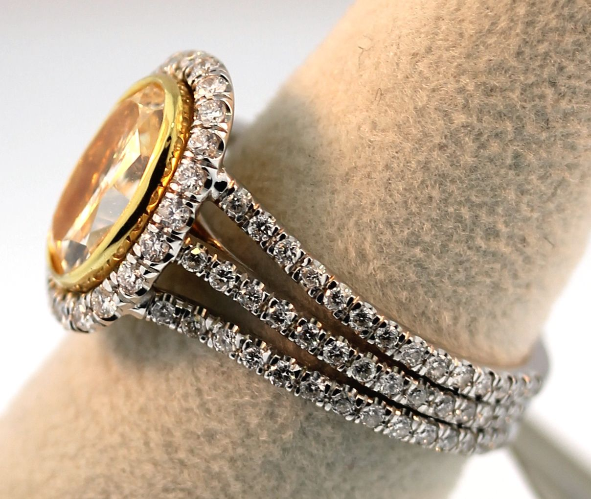 Engagement Ring Trends 2012 Colored Stones Bridal