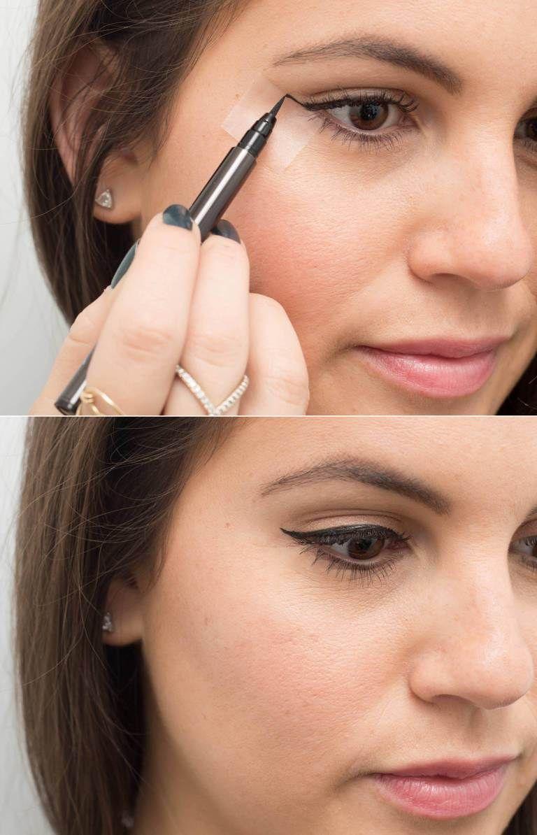 Tricks for easier eyeliner