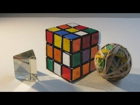 how to draw a rubik 39 s cube illusion how to draw optical illusions art videos pinterest. Black Bedroom Furniture Sets. Home Design Ideas