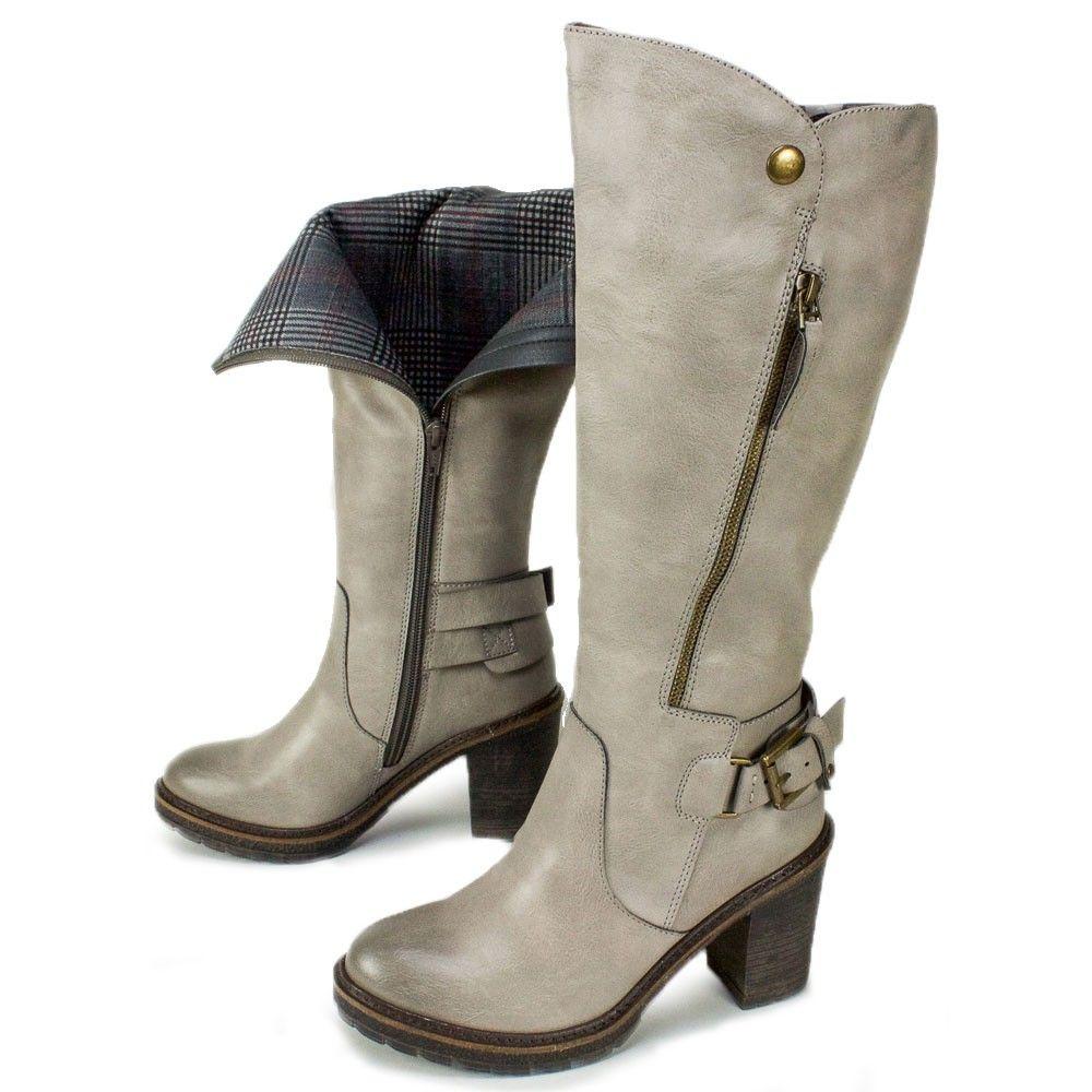 White Mountain Shoes James Charcoal