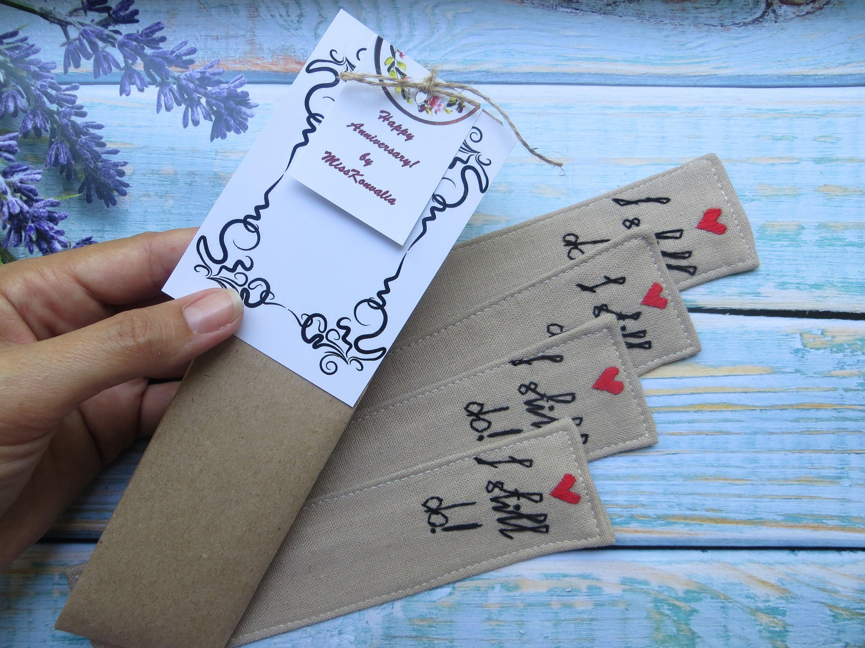 4th anniversary gift for men wife Linen anniversary gift