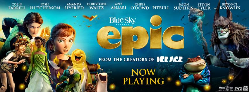 EPIC Now In Theaters! #EpicTheMovie | Epic movie, Kid ...