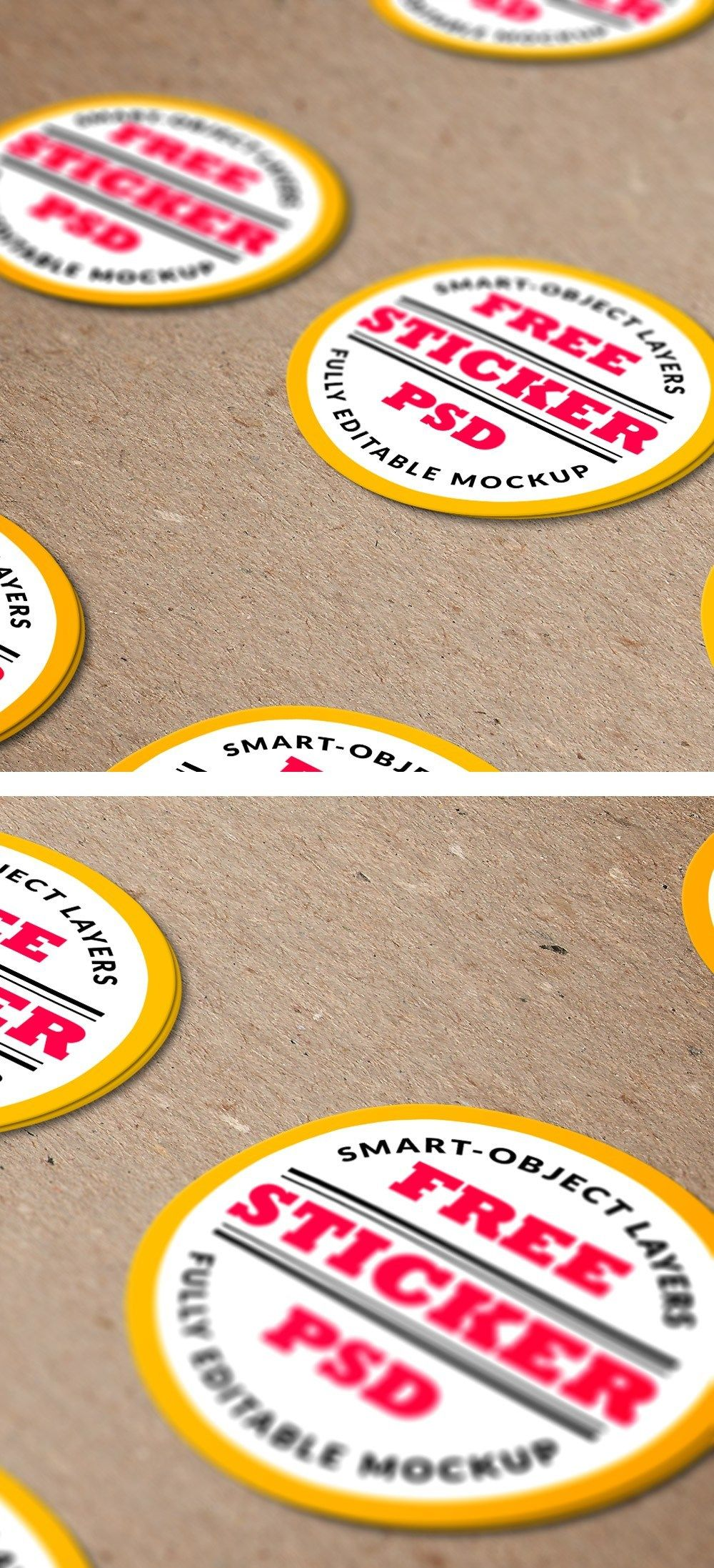 Free Sticker Mockups | ** Mockup ** | Mockup, Mockup generator