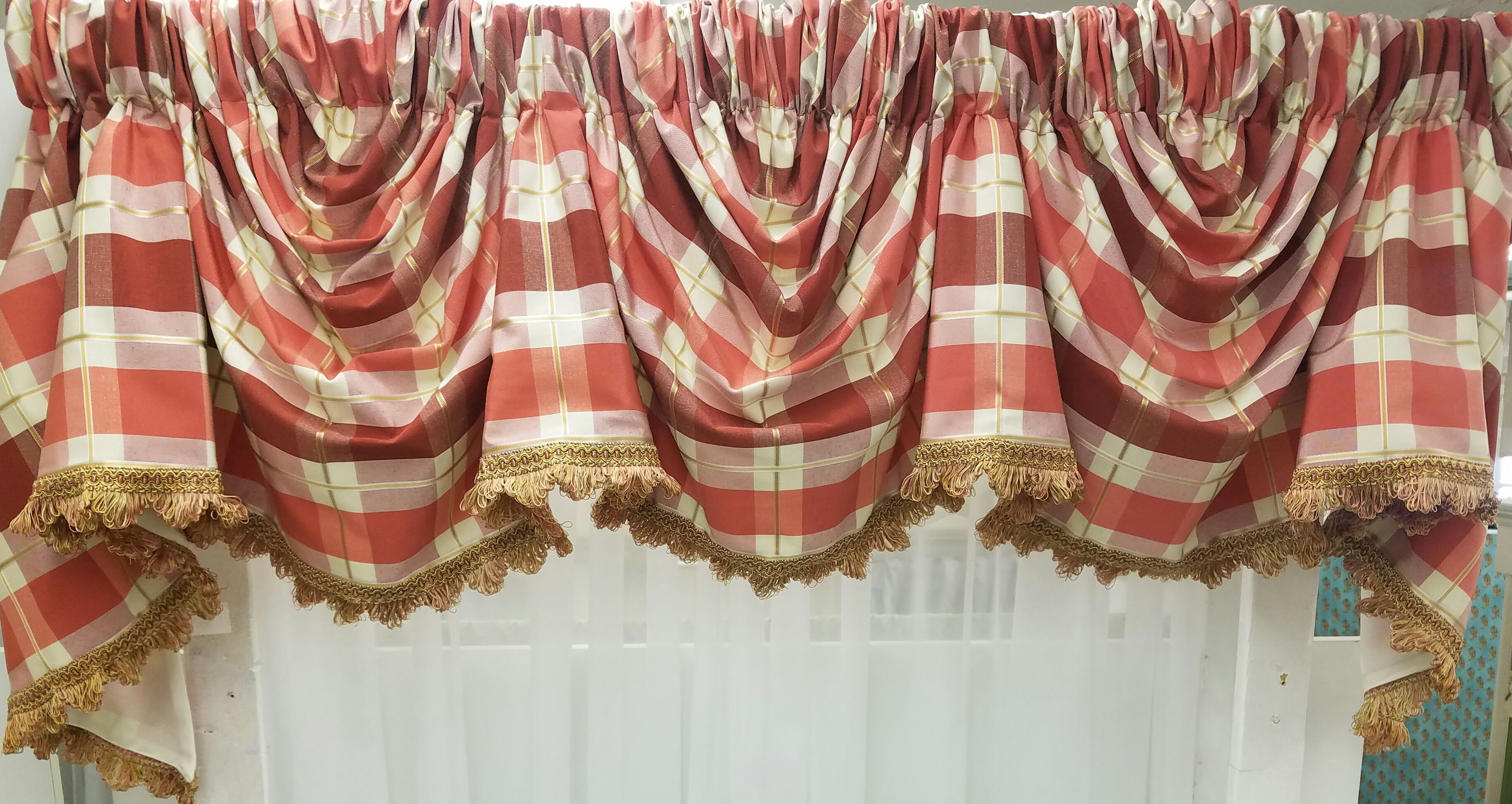 Overpass 3 Scoop Empire Valance Available In 3 Colors 179 99