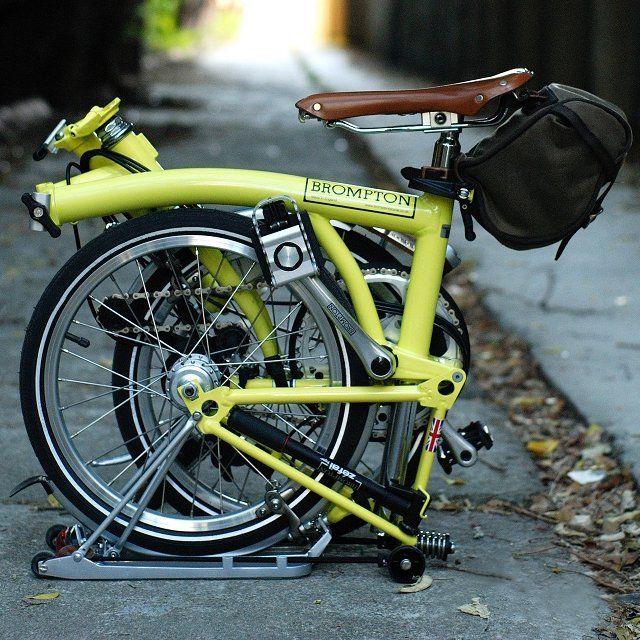 Brompton Folding Bicycle 2375 Folding Bicycle Brompton Bicycle