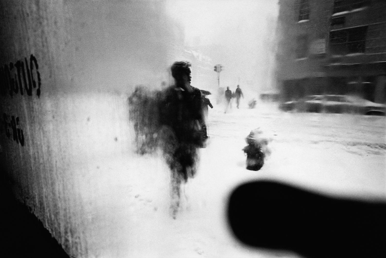 Snow, 1960 · Saul Leiter