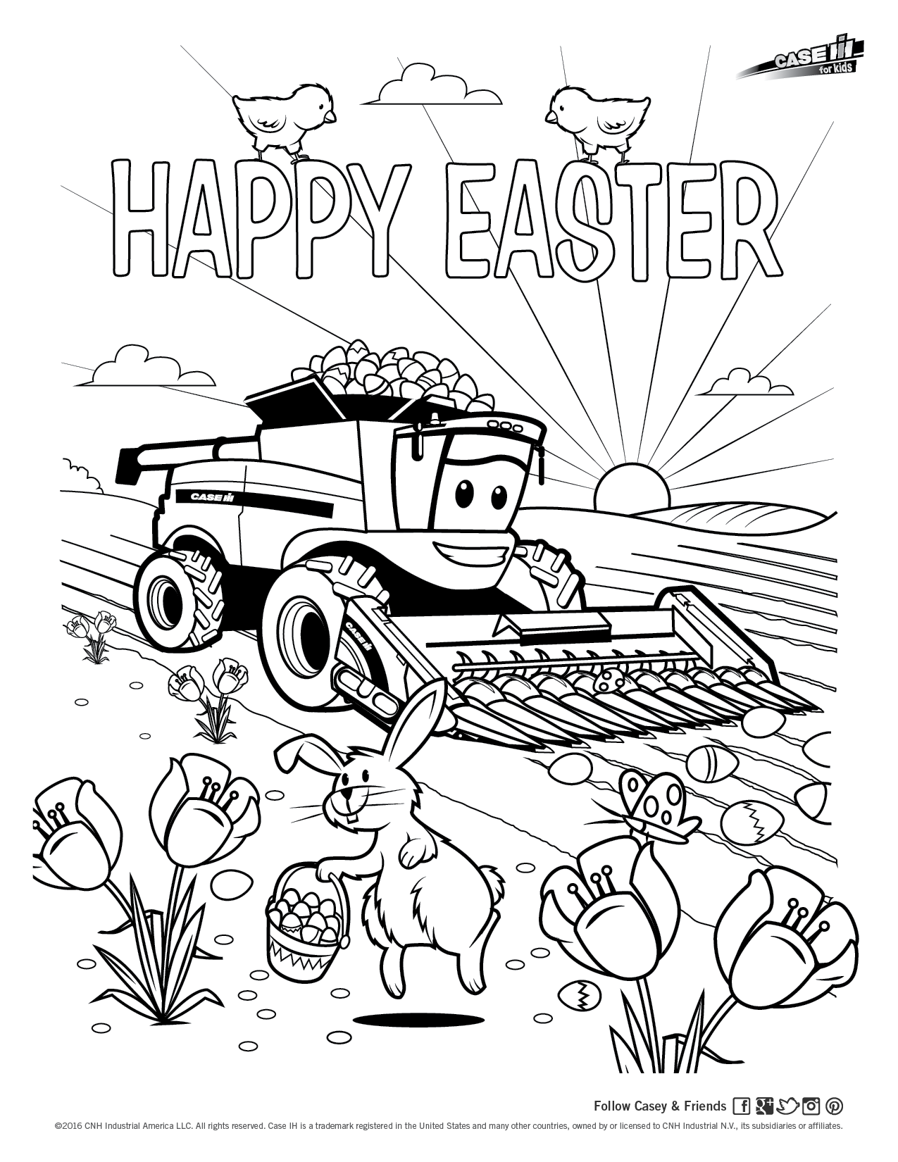 case international tractors coloring pages - photo#24