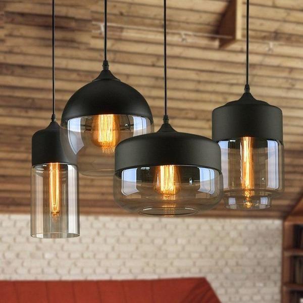 Modern Nordic Glass Pendant Light #pendantlighting