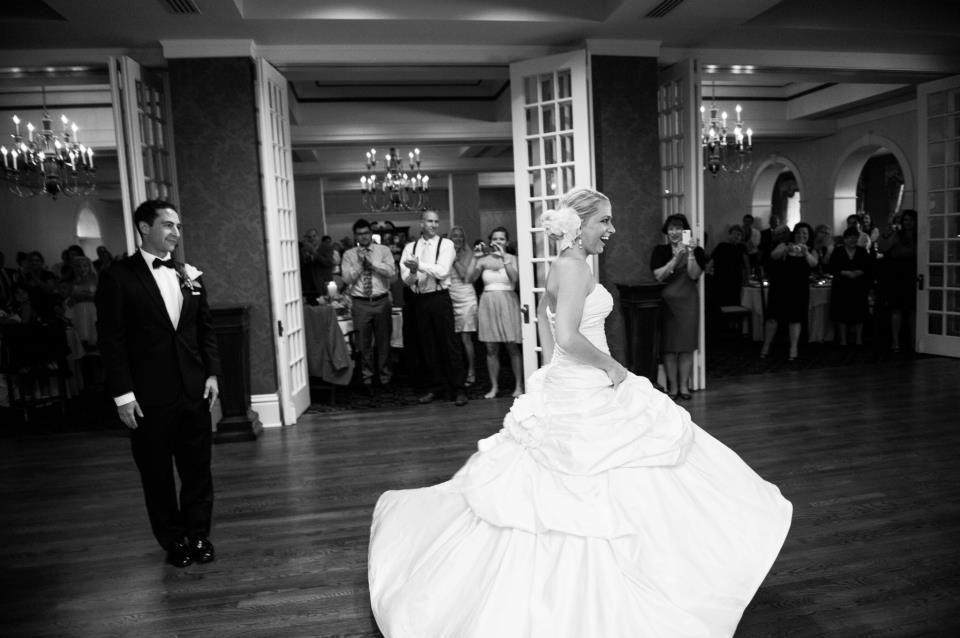 Ashley Frustaci wearing Bouvardia Wedding Dress by Ian