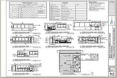 cafe design typical floor plan pdf file pinterest cafe design