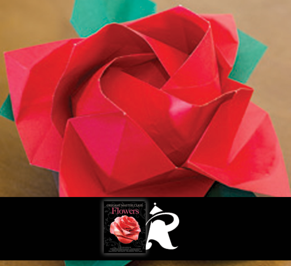 This origami kawasaki rose is designed by toshikazu kawasaki and is decorate your world with spring flowers from origami master class flowers mightylinksfo Gallery