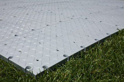 Fast Deck Portable Floor Tiles 12 X 24 7 Each Use Under Tent