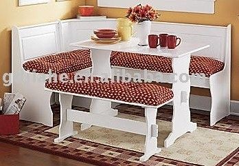 Breakfast Nook Cushions Cheap  Breakfastcornernookwooddining Pleasing Corner Dining Room Furniture Review