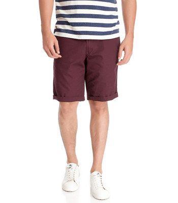 BURGUNDY BERMUDA SHORTS » Shorts » Man » Springfield Man & Woman ...