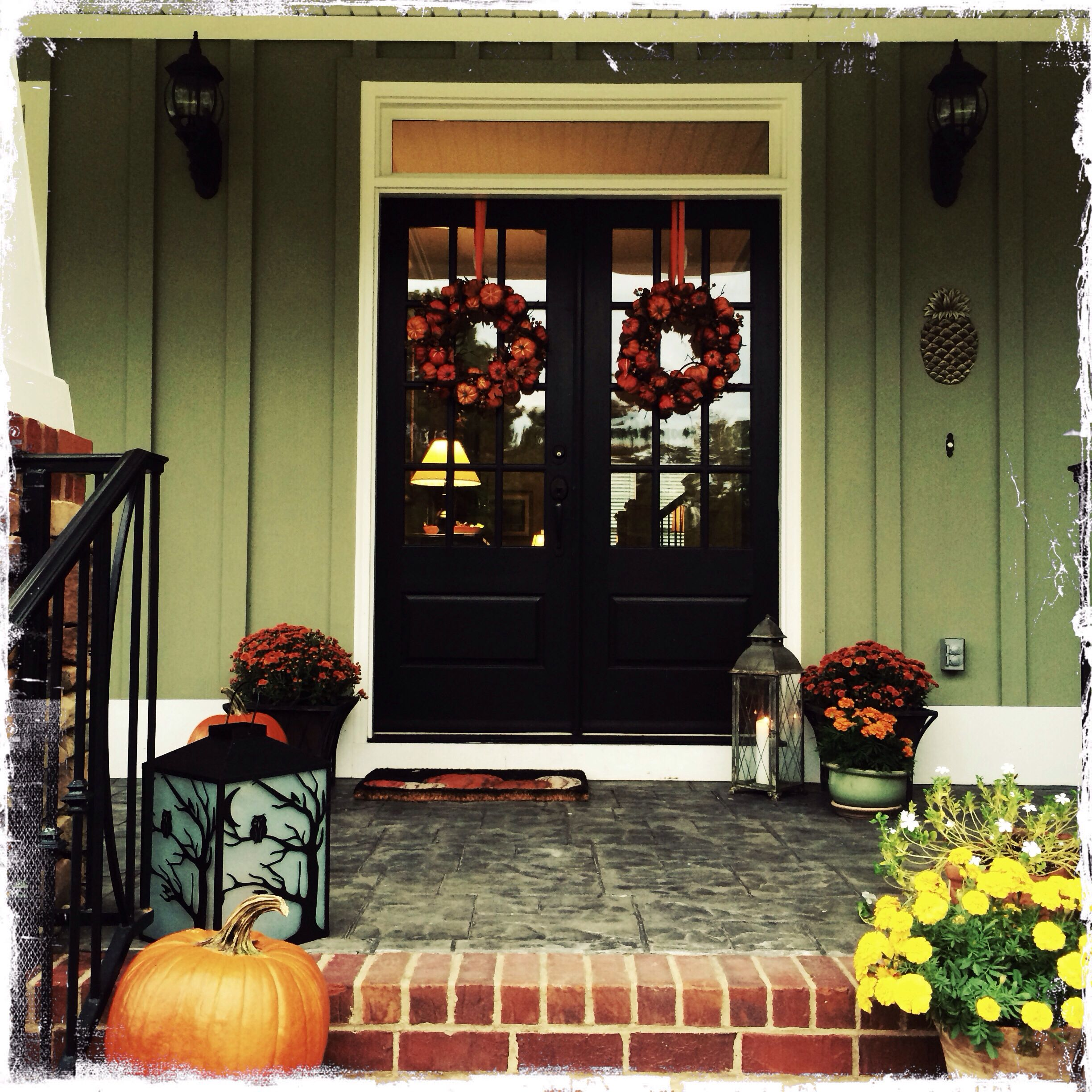 Fall Supper Club front door For the Home Pinterest